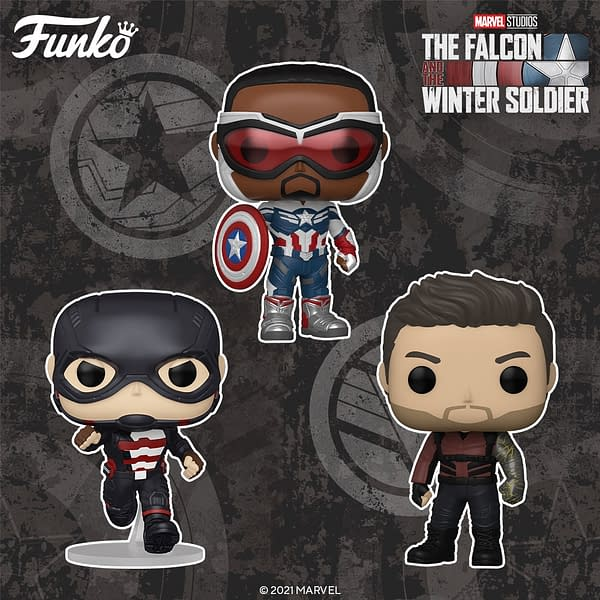 Funko Reveals Entire Wave of The Falcon and the Winter Soldier Pops
