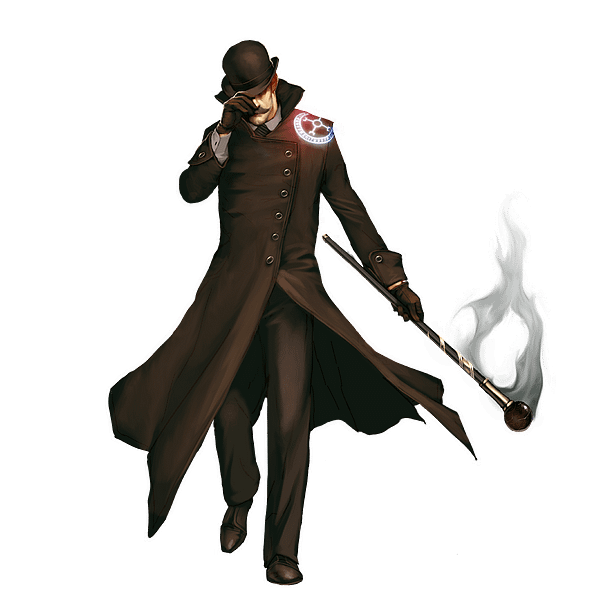 English Ivan, in all his suave, yet menacing, glory. Illustration attributed to Wyrd Miniatures.