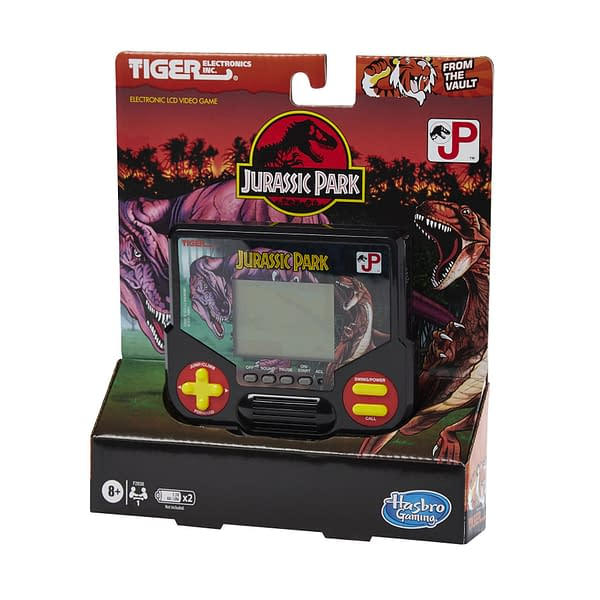 The complete packaging for the Tiger Electronics game, courtesy of Hasbro.