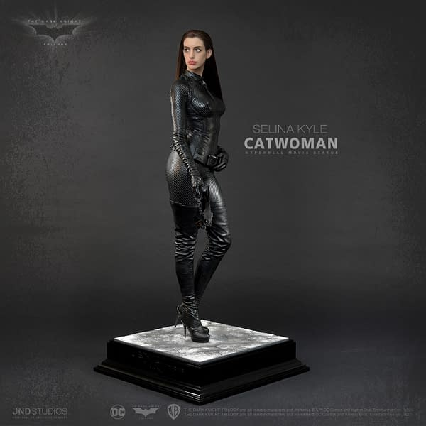 The Dark Knight Rises Catwoman Gets New 1/3 Statue From JND Studios
