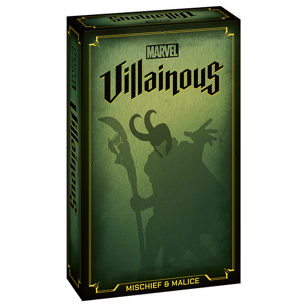 A look at the box art for Marvel Villainous: Mischief & Malice, courtesy of Ravensburger.