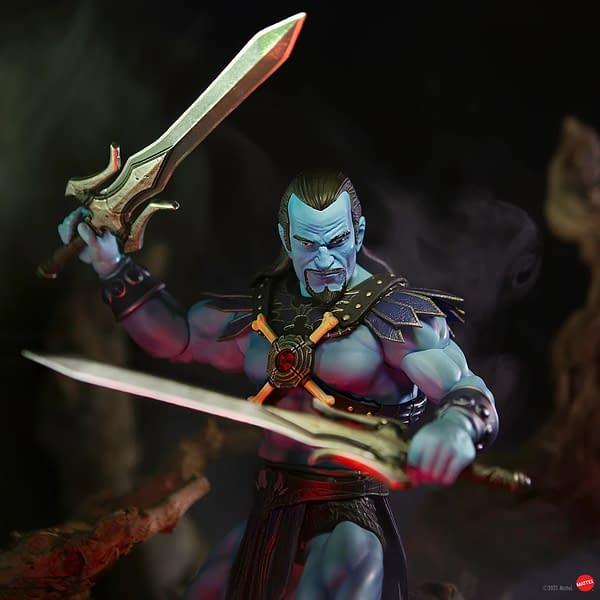 Masters of the Universe Keldor Prepares For Evil At Mondo