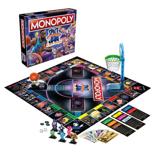 A look at Monopoly: Space Jam a New Legacy, courtesy of Hasbro.