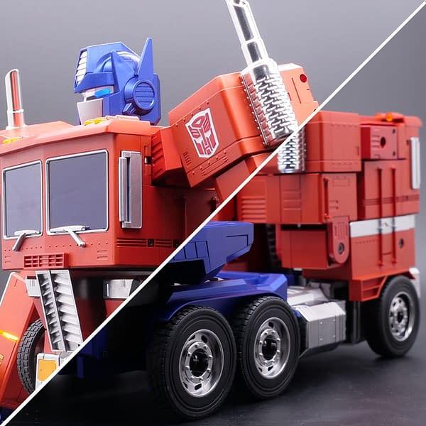Optimus Prime Programmable Robot Debuts at Hasbro From Robosen