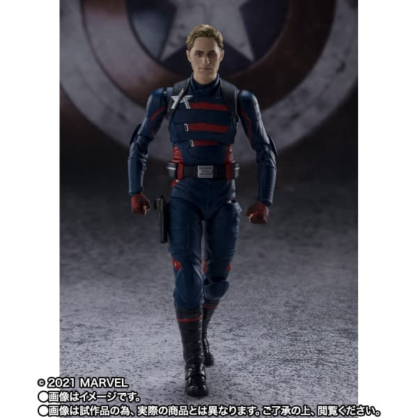 Captain America John Walker Gets New Figure From S.H. Figuarts