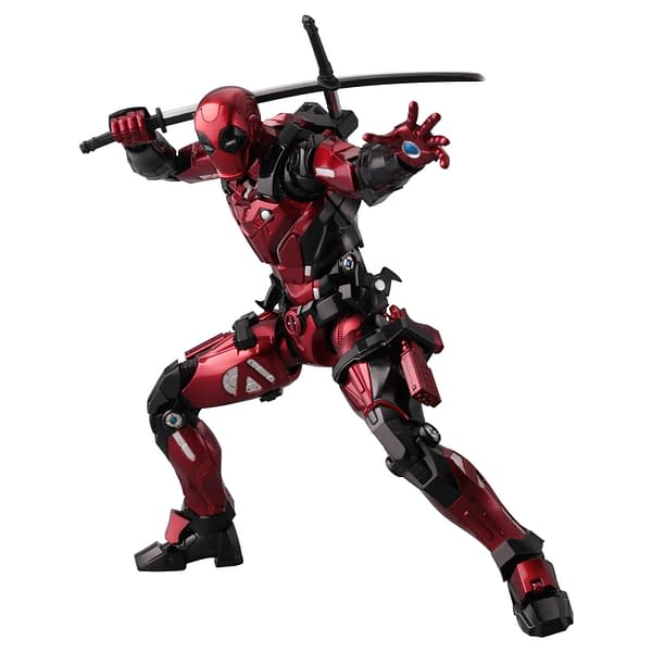 Deadpool Gets His Own Iron Man Suit With Sentinel Fighting Armor