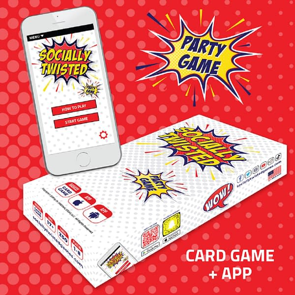 New Party Game Socially Twisted Mixes Mobile Play With Card Titles