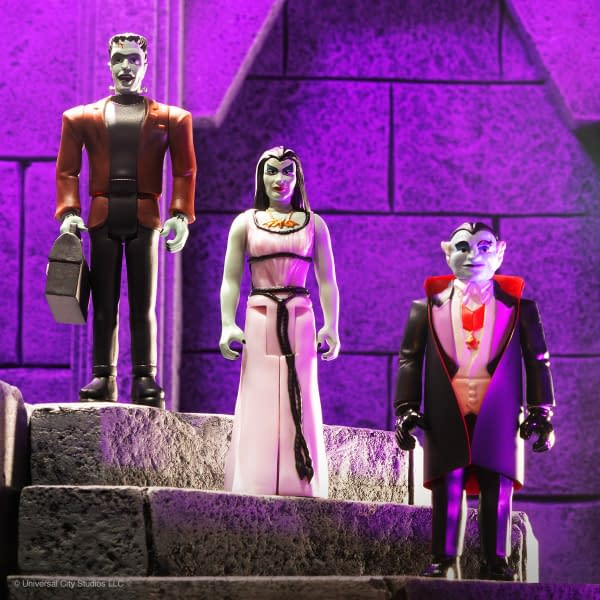 New Munsters ReAction Figures Available Now From Super7