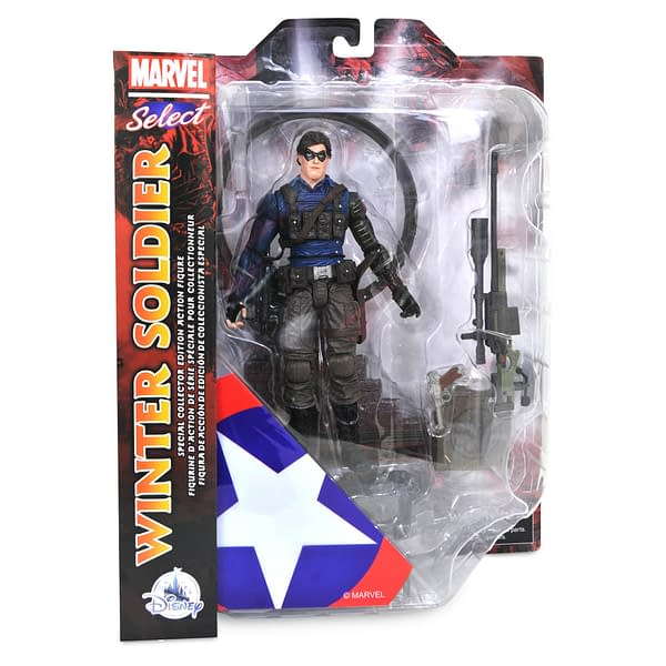 The Falcon and the Winter Soldiers SPOILER Figures Arrive With Diamond