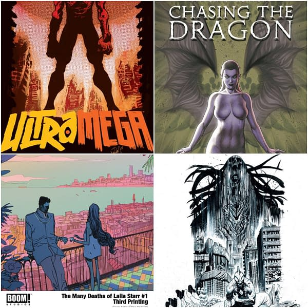 PrintWatch: Ultramega, Chasing The Dragon and Laila Starr