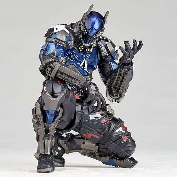 Choose Between Red Hood or Arkham Knight With New Revoltech Figure