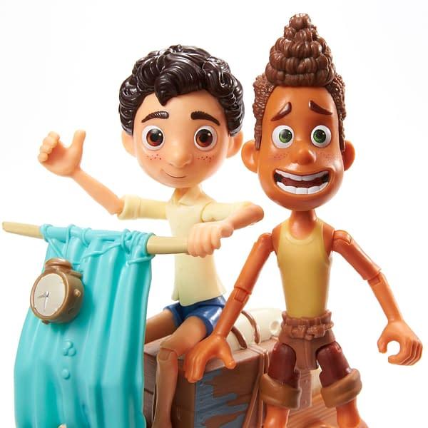 Mattel Reveals First Look at Disney and Pixar Luca Action Figures