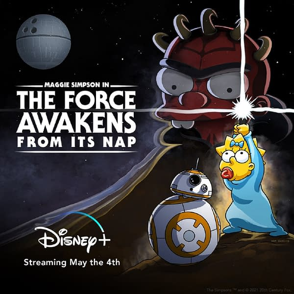 Simpsons Short for May the 4th: The Force Awakens From Its Nap