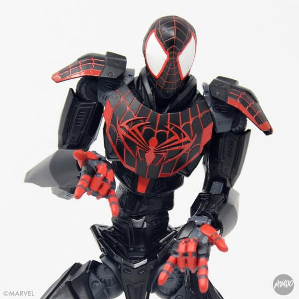 Miles Morales Spider-Man Gets A Marvel Mecha Mondo Upgrade
