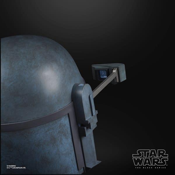 Star Wars Death Watch Replica Black Series Hasbro Helmet Revealed