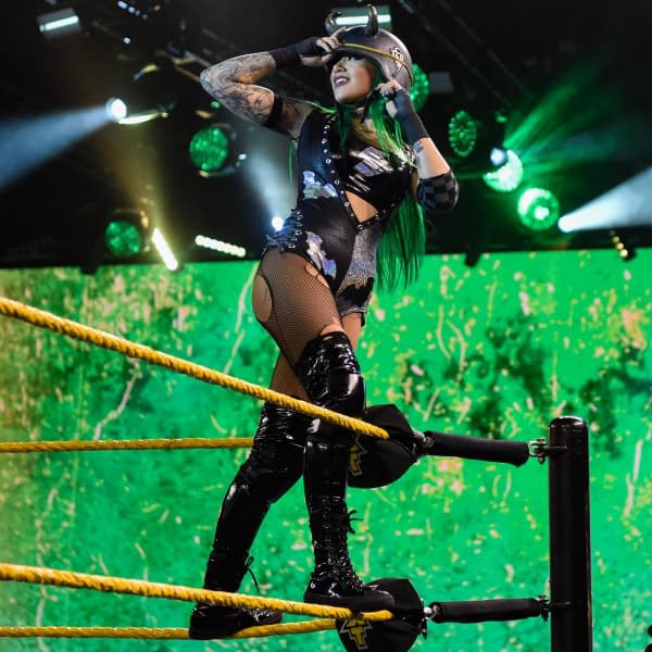 Shotzi Blackheart Throws Shade At AEW's Latest Dud Of A Finish