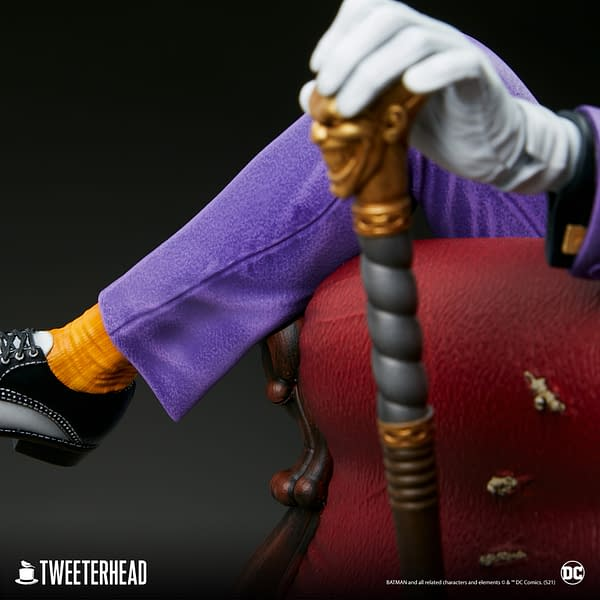 The Joker Shows Off His Collection With New Tweeterhead Statue