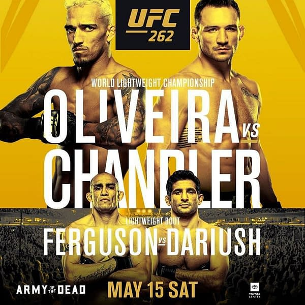 UFC 262: A New Lightweight Champ Will Be Crowned