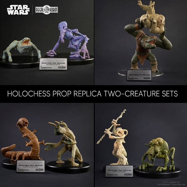 Star Wars Holochess Two-Creature Sets Coming From Regal Robot