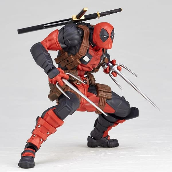 Deadpool Levels Up With His Newest Revoltech Marvel Figure