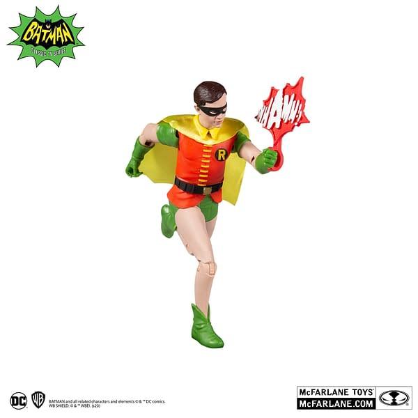 McFarlane Toys Gives Closer Look At 1966 Batman and Robin Figures