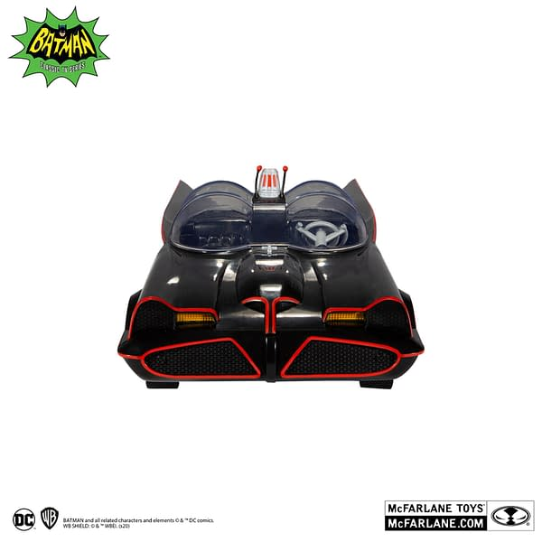 The 1966 Batmobile Hits The Gotham Streets With McFarlane Toys