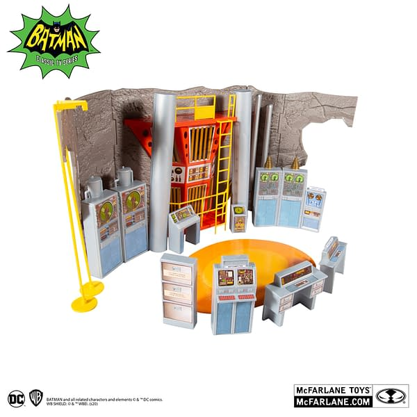 McFarlane Toys Enters the Batcave As They Reveal Their 1966 Playset