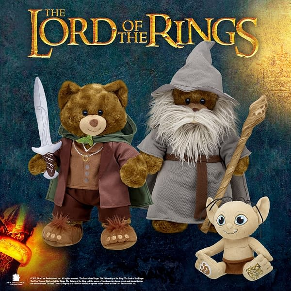 Explore Middle Earth With Lord of the Rings Build A Bears