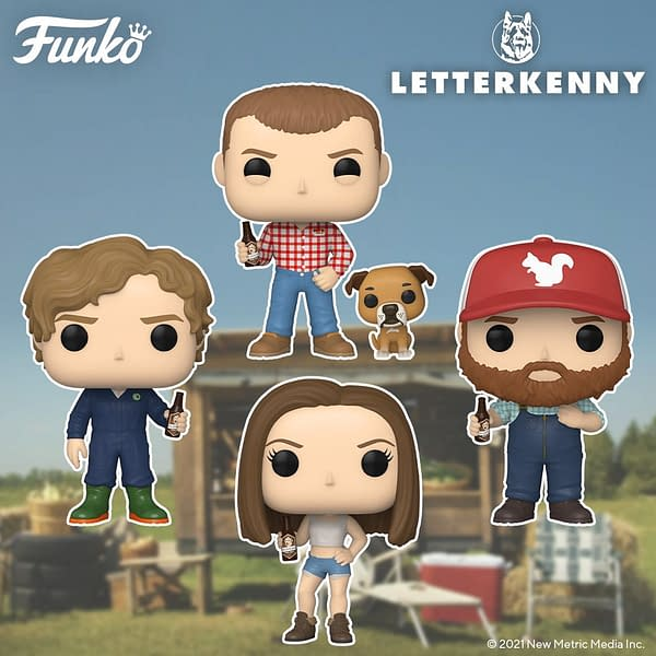 Letterkenny Finally Gets Their Own Wave of Pops From Funko