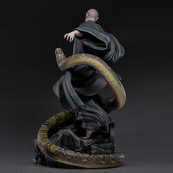 Lord Voldemort Rises With Iron Studios Harry Potter Legacy Statue