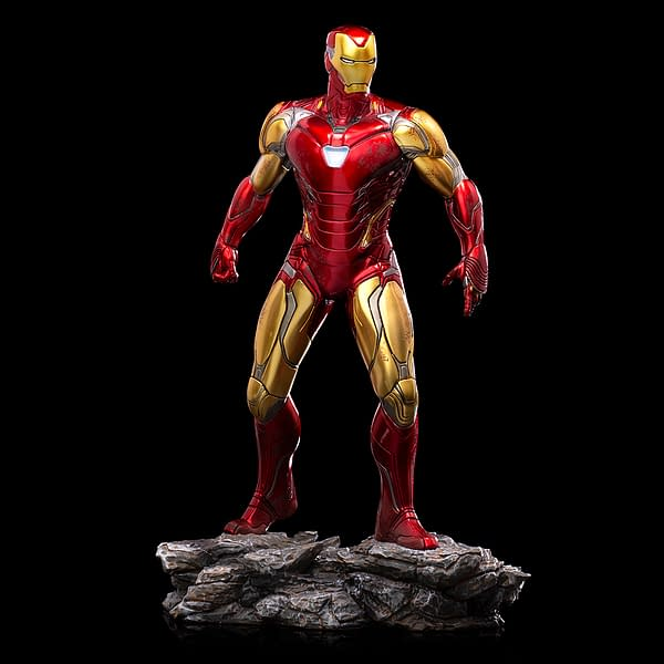 Iron Man Prepares For The Fight of His Life With Iron Studios