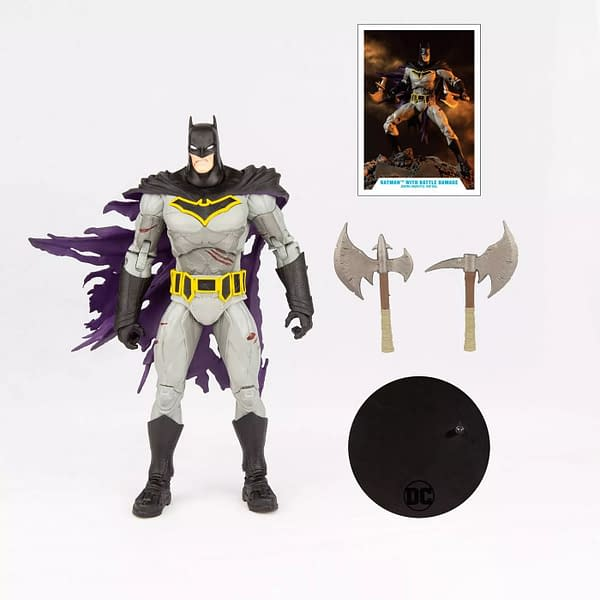 McFarlane Toys Reveals Dark Nights Batman Cover Edition Figure