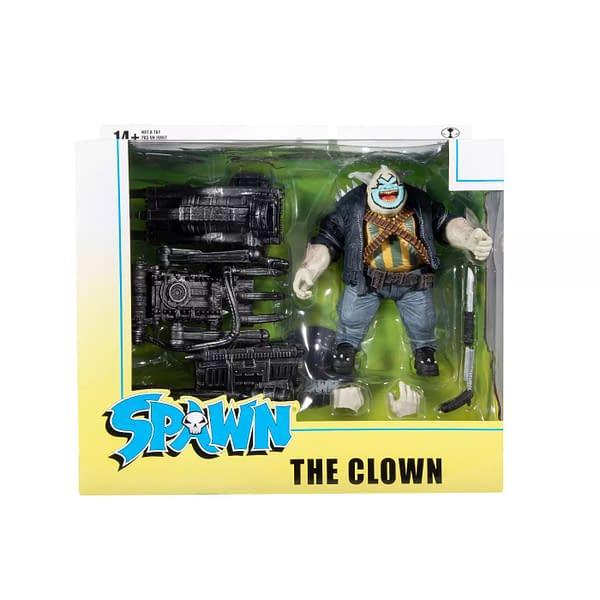 Spawn's Universe Clown and Violator McFarlane Toys Figures Arrive