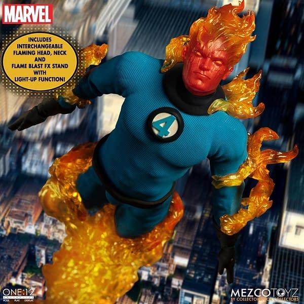 The Fantastic Four Comes to Mezco Toyz With New Bundle Set