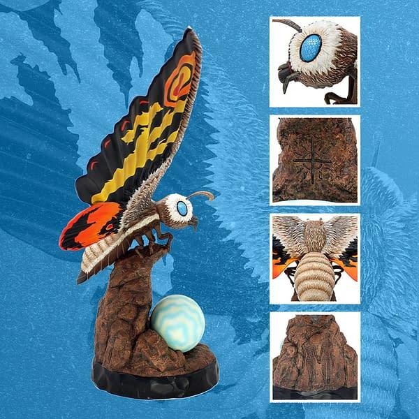 Mothra Rises As Mondo Reveals New Godzilla: Tokyo S.O.S Statue