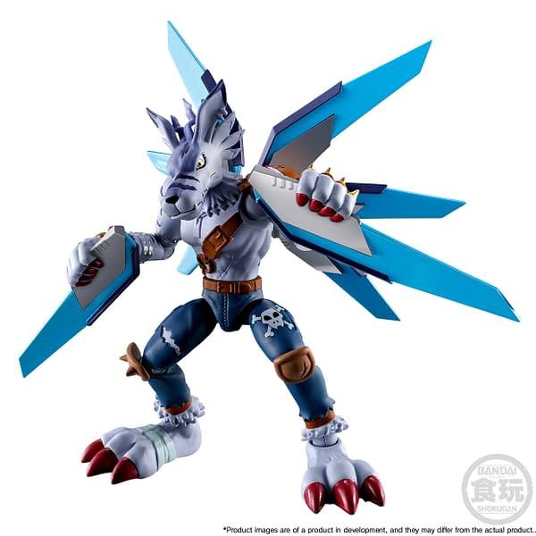 New Digimon Figures Arrived From Bandai Including MetalGreymon
