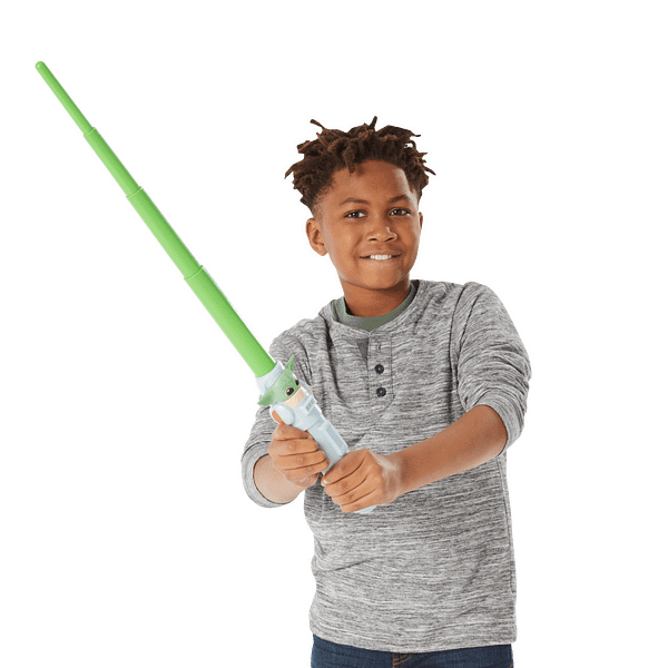 The Mandalorian Gets His Own Lightsaber With Hasbro Lightsaber Squad
