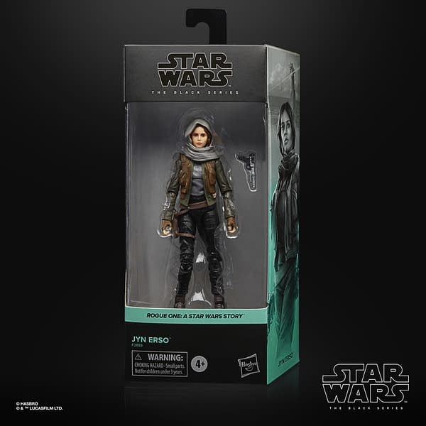 Star Wars Rogue One Figures Return With Hasbro Black Series Reissue