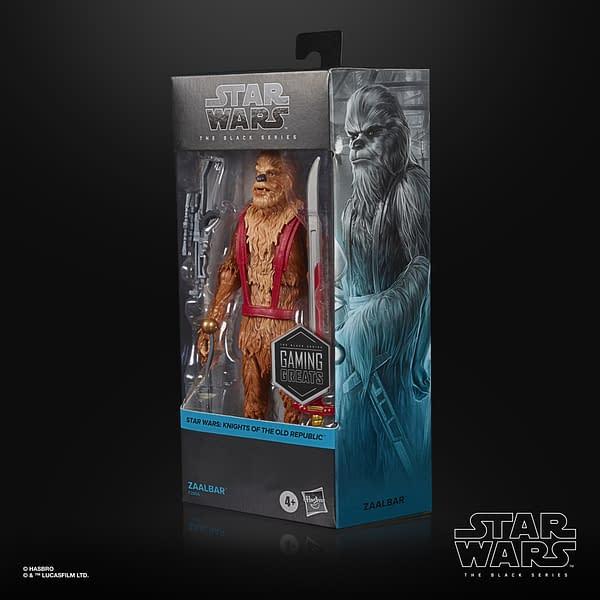 Hasbro Reveals Exclusive Star Wars KOTOR Zaalbar Black Series Figure