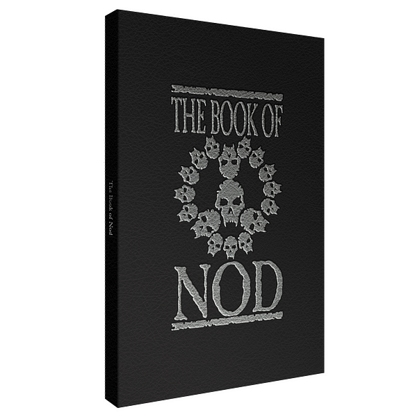 Cover art for The Book of Nod, courtesy of Renegade Game Studios.