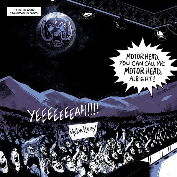 Lemmy Gets His Own Motörhead Graphic Novel