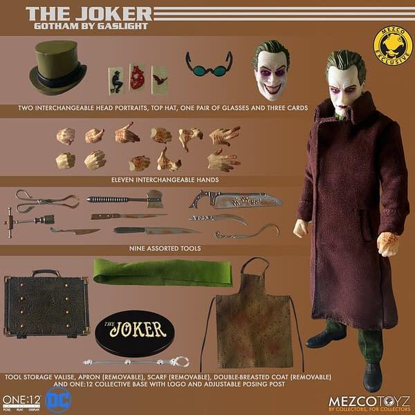 The Joker: Gotham by Gaslight One:12 Comes to Mezco Toyz