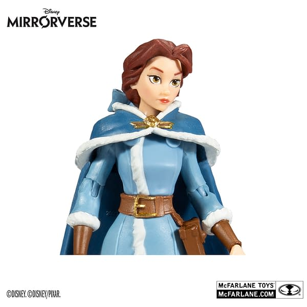 Disney Mirrorverse Belle and Goofy Arrive From McFarlane Toys