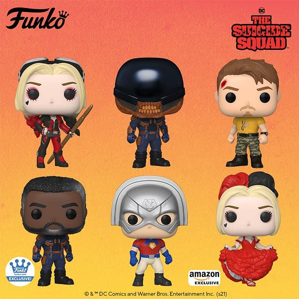 Funko Reveals First Wave of The Suicide Squad Pop Vinyls