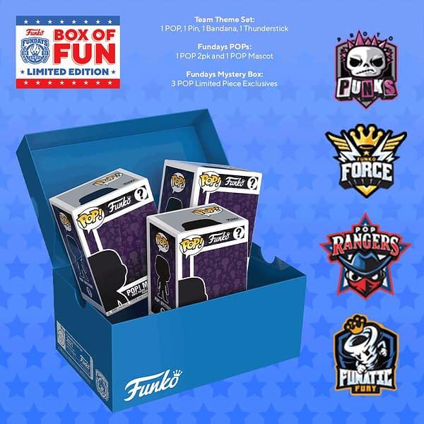 Funko Announces FunKon and Fundays Box of Fun Lottery