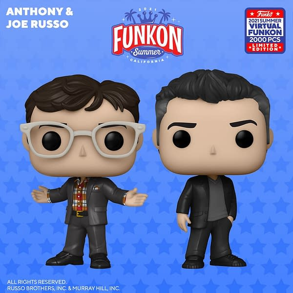 Funko FunKon Day 3 Reveals - Disney, Russo Brothers, and More