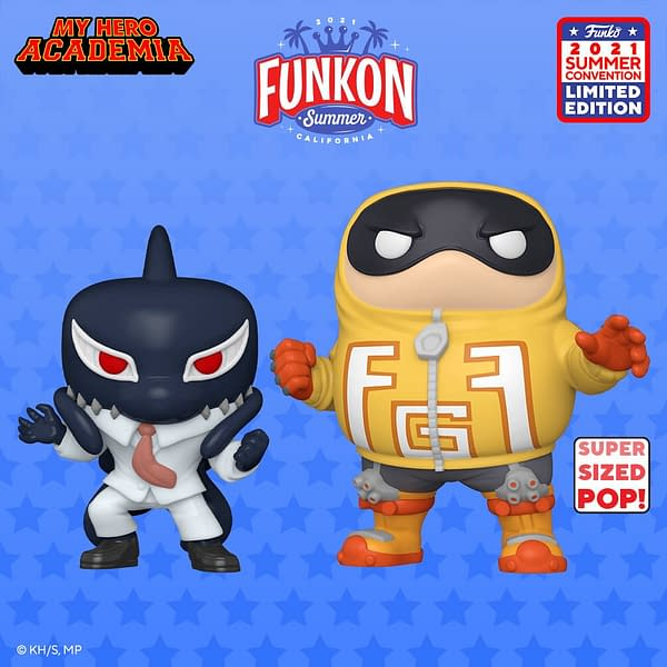 Funko FunKon Day 5 Reveals - Marvel, Rocketeer, My Hero and More