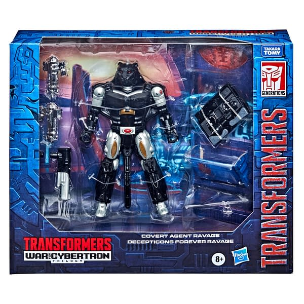 Hasbro Reveals Exclusive Transformers Covert Agent Ravage and Micromaster