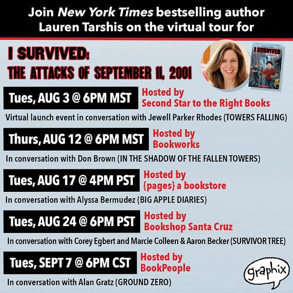 """Preview: """"I Survived: The Attacks of September 11, 2001"""" Graphic Novel"""