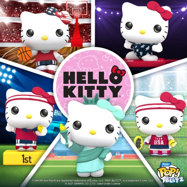 It's super adorable that Hello Kitty is competing in so many sports, including cosplay. Courtesy of N3TWORK.